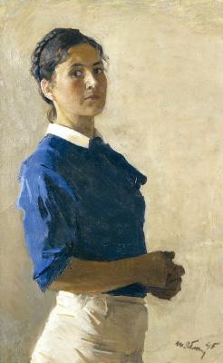 Татьяна Ниловна Яблонская. Автопортрет