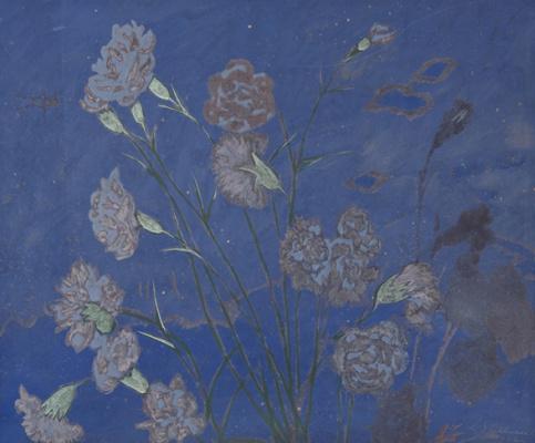 Леон Спиллиарт. Carnations, 1922 Offa Gallery, Belgium