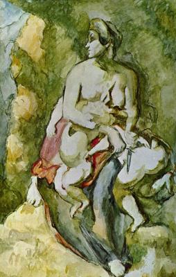 Paul Cezanne. Medea