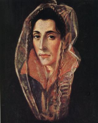 Эль Греко (Доменико Теотокопули). Портрет дамы
