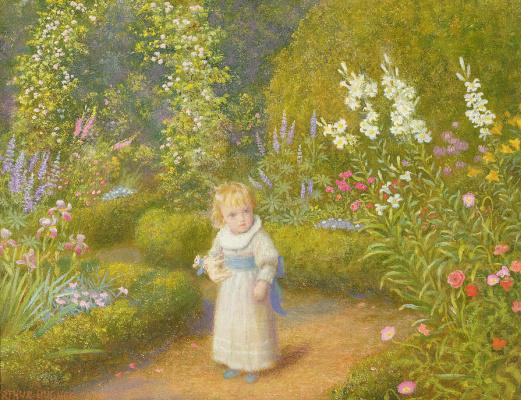 Arthur Hughes. Wonderland