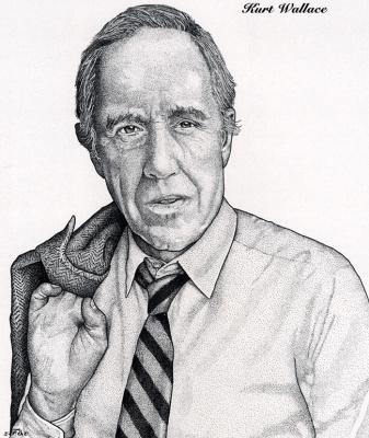 Курт Уоллес. Мужской портрет