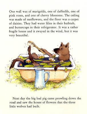 Хелен Охенбуру. Три маленьких волчонка и большой плохой свин 6