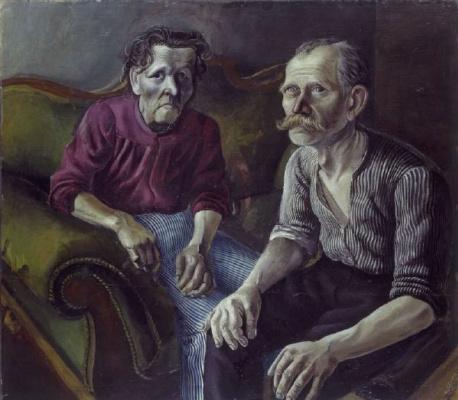 Otto Dix. Parents
