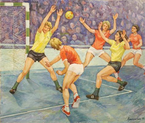 Victor Vladislavovich Adamkevich. Handball