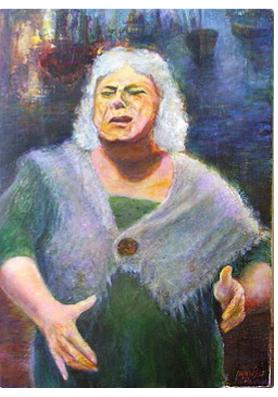 Silva Iosifovna Zalmanson. Fisherwoman