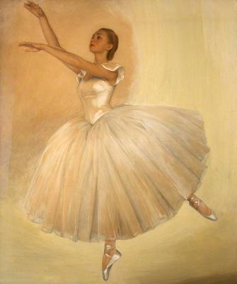 Saveliy Abramovich Sorin. Portrait of a ballerina Irina Baranova. 1939