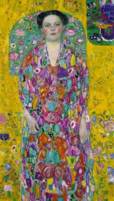 Gustav Klimt. Portrait Of Eugenia Primavesi