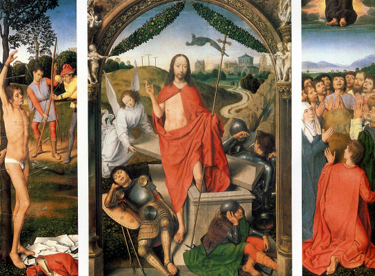Hans Memling. Triptych Of The Resurrection