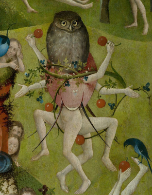 The garden of earthly delights. The Central part. Detail