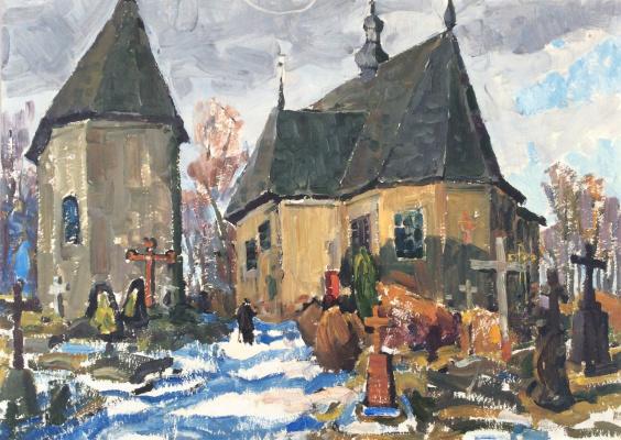 Николай Петрович Карякин. Старое кладбище