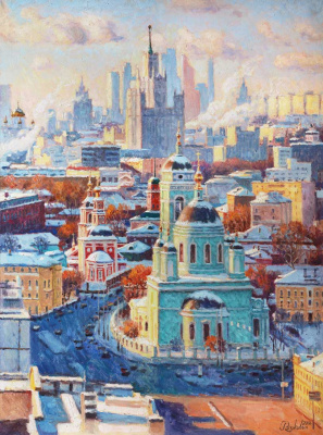 Igor Razzhivin. Singing the beauty of a winter city