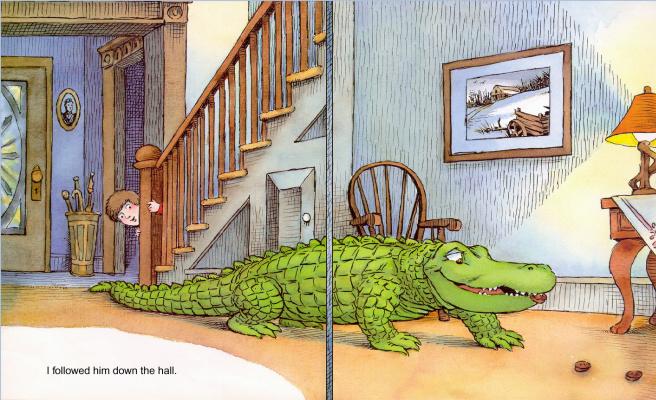 Мерсер Мейер. Иллюстрация к книге Там крокодил под моей кроватью 18