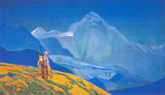 Nicholas Roerich. Charaka, The Ayurveda