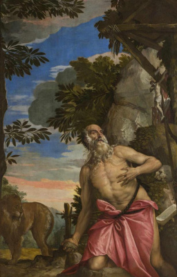 Паоло Веронезе. Святой Иероним в пустыне