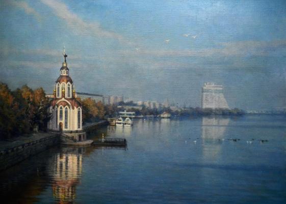 Александр Владимирович Кусенко. Храм Иоанна крестителя на Днепре