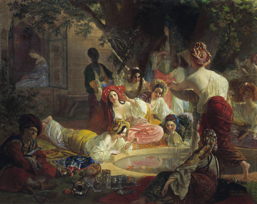 Karl Pavlovich Bryullov. The fountain of Bakhchisarai