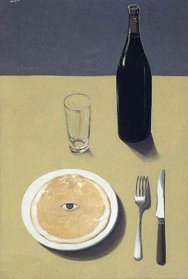René Magritte. Portrait