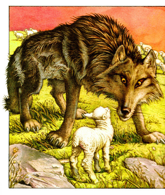 Чарльз Сантор. Волк и овца