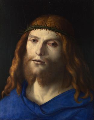 Giovanni Battista Cima da Conegliano. Christ in crown of thorns