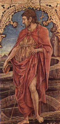 Козимо Тура. Св. Иоанн Креститель