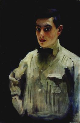 Alexander Murashko. Portrait of a young man
