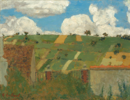 Jean Edouard Vuillard. Landscape of the Ile-de-France