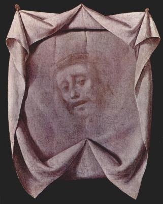 Francisco de Zurbaran. The Holy face