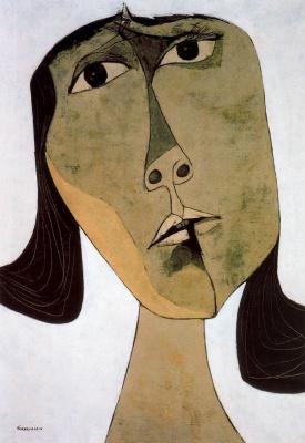 Освальдо Гуаясамин. Портрет 25