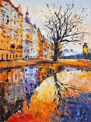 Jose Rodriguez. Walking the old streets ... Prague