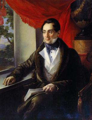 Vasily Andreevich Tropinin. Portrait Of Platon Nikolaevich Zubov