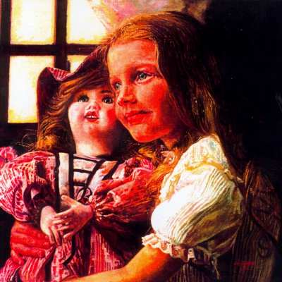 Алехандро Кано Боладо. Девочка с куклой