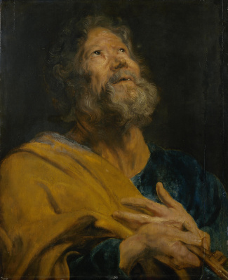 Anthony van Dyck. The Apostle Peter