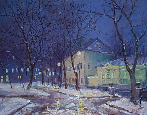 Alexander Panyukov. Yelokhovskaya Square