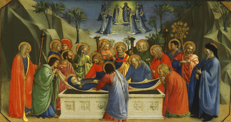 Fra Beato Angelico. Dormition of the Virgin