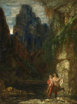 Gustave Moreau. Raising Achilles