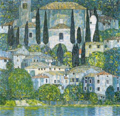 Gustav Klimt. The Church in Cassone