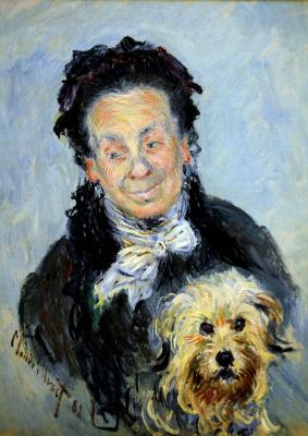 Клод Моне. Портрет Юджинии Графф (Мадам Поль)