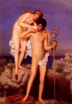 Charles Gleir. Daphnis and Chloe