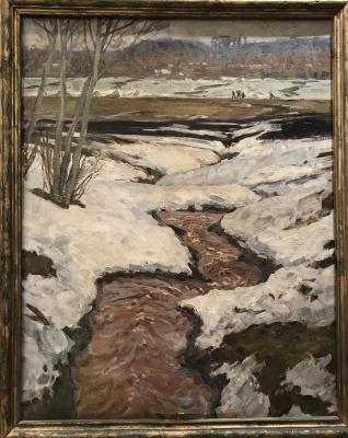 Andrey Andreevich Tutunov. Spring Creek