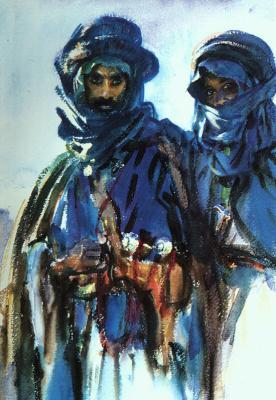 John Singer Sargent. The Bedouins