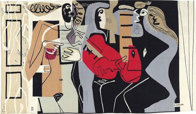 Le Corbusier. Three musicians