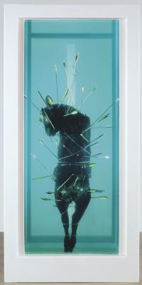 Damien Hirst. Saint Sebastian, Exquisite Pain