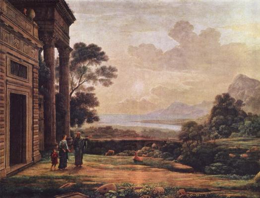 Claude Lorrain. The Expulsion Of Hagar