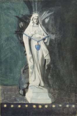 Леон Спиллиарт. Notre-Dame With the Blue Heart, 1907