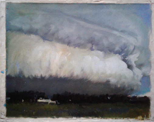 Alexander Isakov. Study of a thundercloud