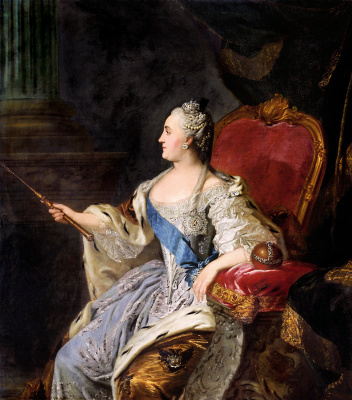 Fedor Stepanovich Rokotov. Portrait of Catherine II