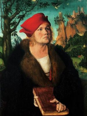 Лукас Кранах Старший. Портрет доктора Иоганна Куспиниан