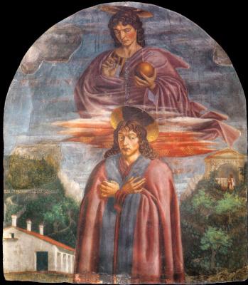 Андреа дель Кастаньо. Св. Джулиан и спаситель