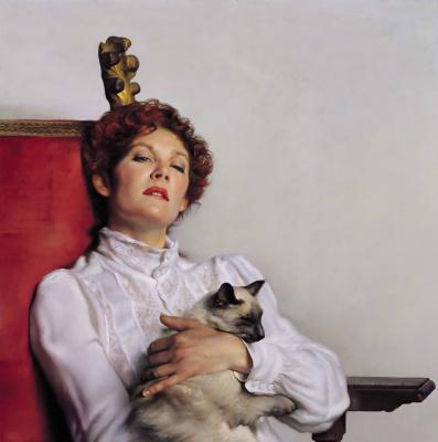 Нельсон Шэнкс. Дама с котом